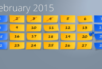 Powerpoint Calendar: The Perfect Start For 2015 intended for Powerpoint Calendar Template 2015
