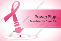 Powerpoint Template: Breast Cancer Awareness Pink Ribbon pertaining to Breast Cancer Powerpoint Template