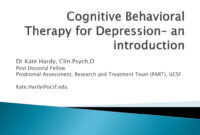 Ppt – Cognitive Behavioral Therapy For Depression– An for Depression Powerpoint Template