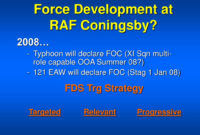 Ppt – Force Development Raf Coningsby Powerpoint with Raf Powerpoint Template