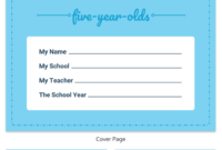 Pre-K Progress Report Template – Venngage within Preschool Weekly Report Template