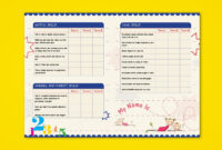 Pre-Nursery Report Card On Behance | Report Card Ideas throughout Boyfriend Report Card Template