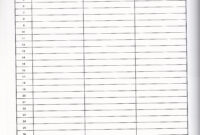 Printable 3 Column Chart With Lines | Template Business Psd within 3 Column Word Template