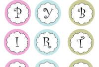 Printable Banners Templates Free | Print Your Own Birthday regarding Free Printable Happy Birthday Banner Templates