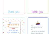 Printable Birthday Thank You Cards –   Printables & Fonts with regard to Free Printable Thank You Card Template