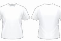Printable Blank T Shirt Outline | Azərbaycan Dillər Universiteti pertaining to Printable Blank Tshirt Template