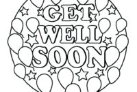 Printable Coloring Pages Get Well Soon – Quorumsheet.co in Get Well Card Template