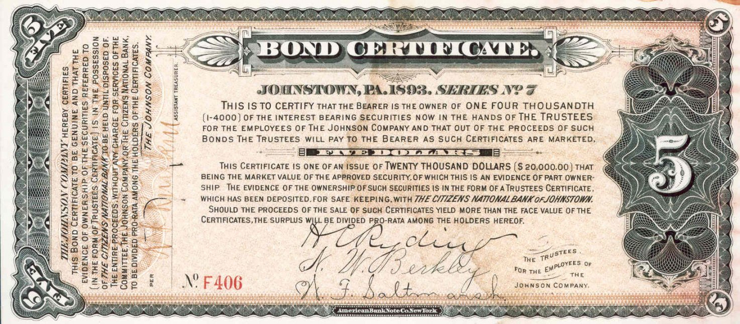Printable Corporate Bond Certificate Template Koranstickenco Pertaining To Corporate Bond Certificate Template