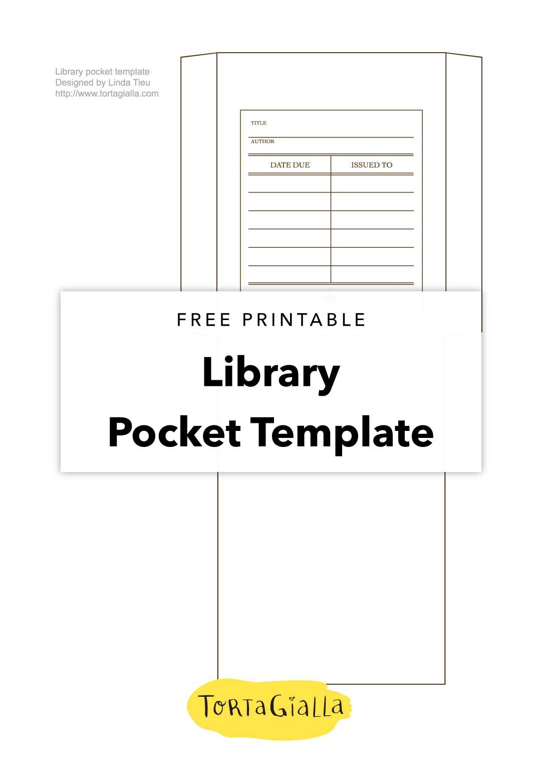Printable Library Card Template - Free Download | Printables Regarding Library Catalog Card Template