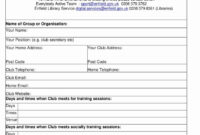 Printable Vendor Stration Form Template Student Word Camp inside Camp Registration Form Template Word