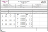 Product Detail pertaining to Welding Inspection Report Template