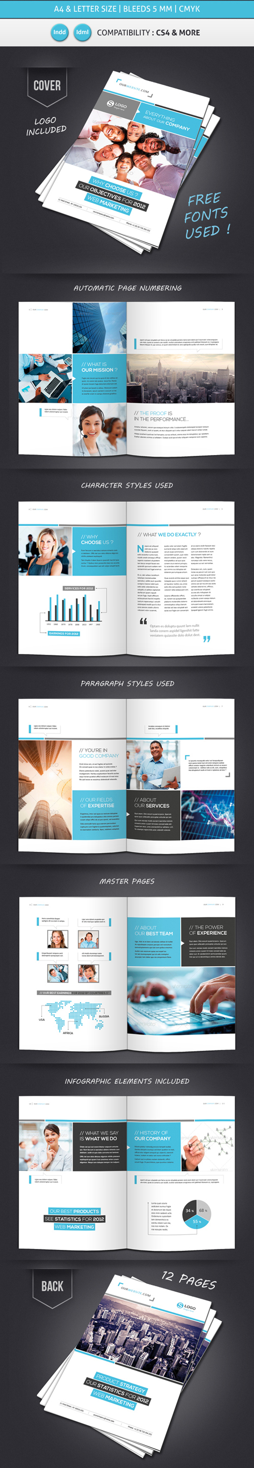 Professional Brochure Designs | Design | Graphic Design Junction Inside 12 Page Brochure Template