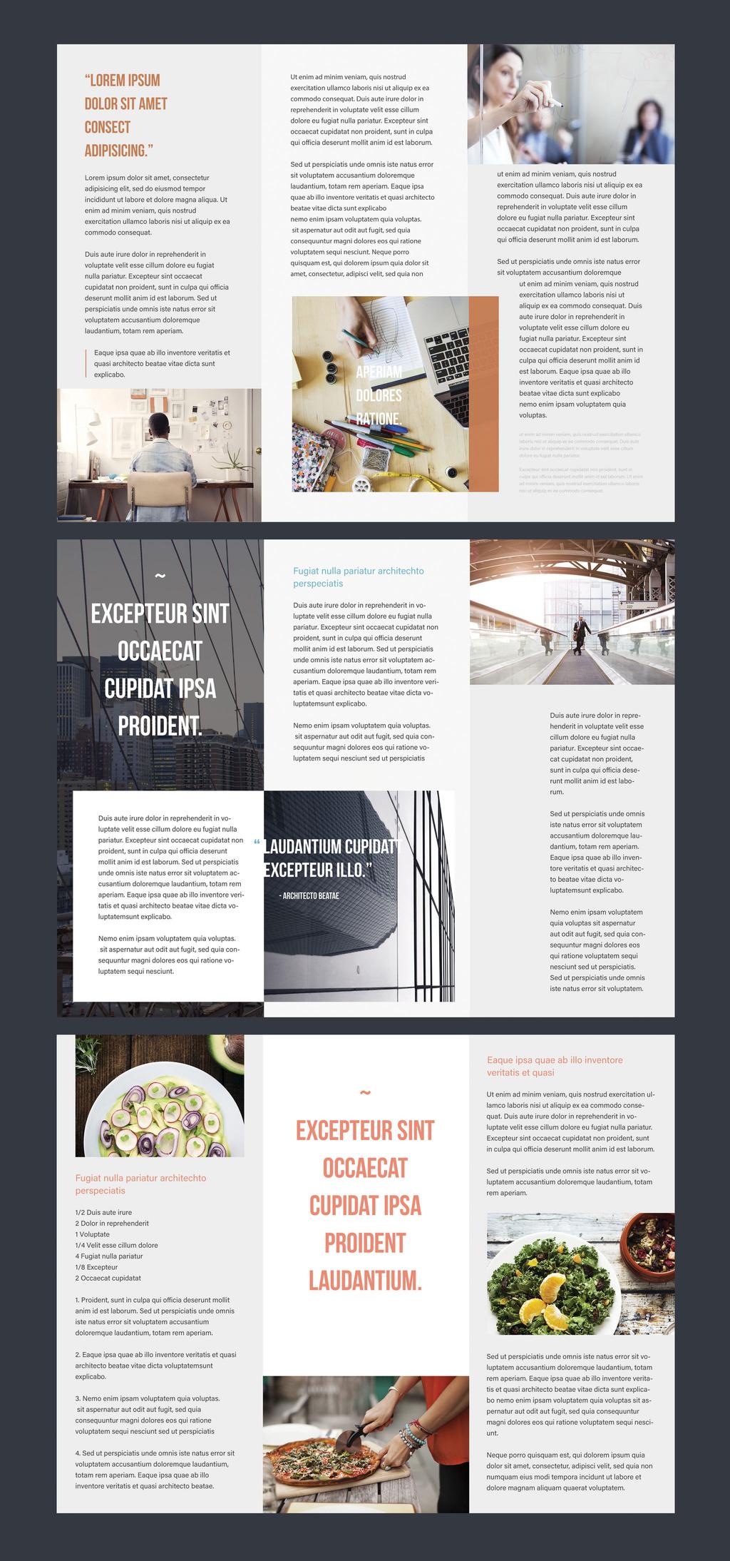 Professional Brochure Templates | Adobe Blog With Regard To Adobe Illustrator Tri Fold Brochure Template