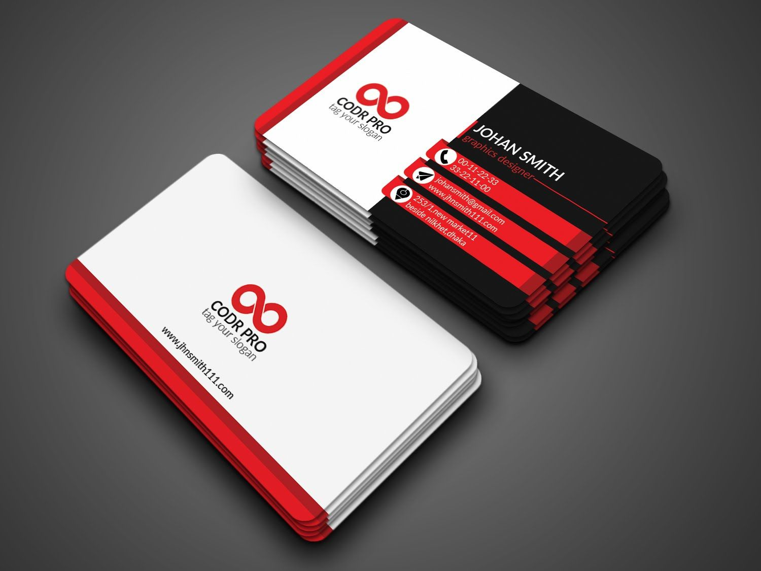 Professional Business Card Design In Photoshop Cs6 Tutorial With Regard To Photoshop Cs6 Business Card Template
