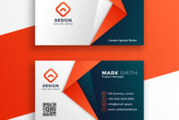 Professional Business Card Template Design in Adobe Illustrator Business Card Template