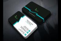 Professional Business Card Templates Design – Photoshop Tutorial regarding Photoshop Name Card Template
