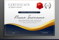 Professional Diploma Certificate Template Design regarding Design A Certificate Template