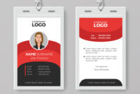 Professional Employee Id Card Template in Template For Id Card Free Download