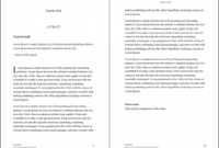 Professional-Looking Book Template For Word, Free – Used To Tech for 6X9 Book Template For Word