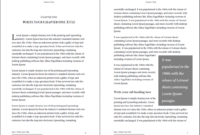 Professional-Looking Book Template For Word, Free - Used To Tech with 6X9 Book Template For Word