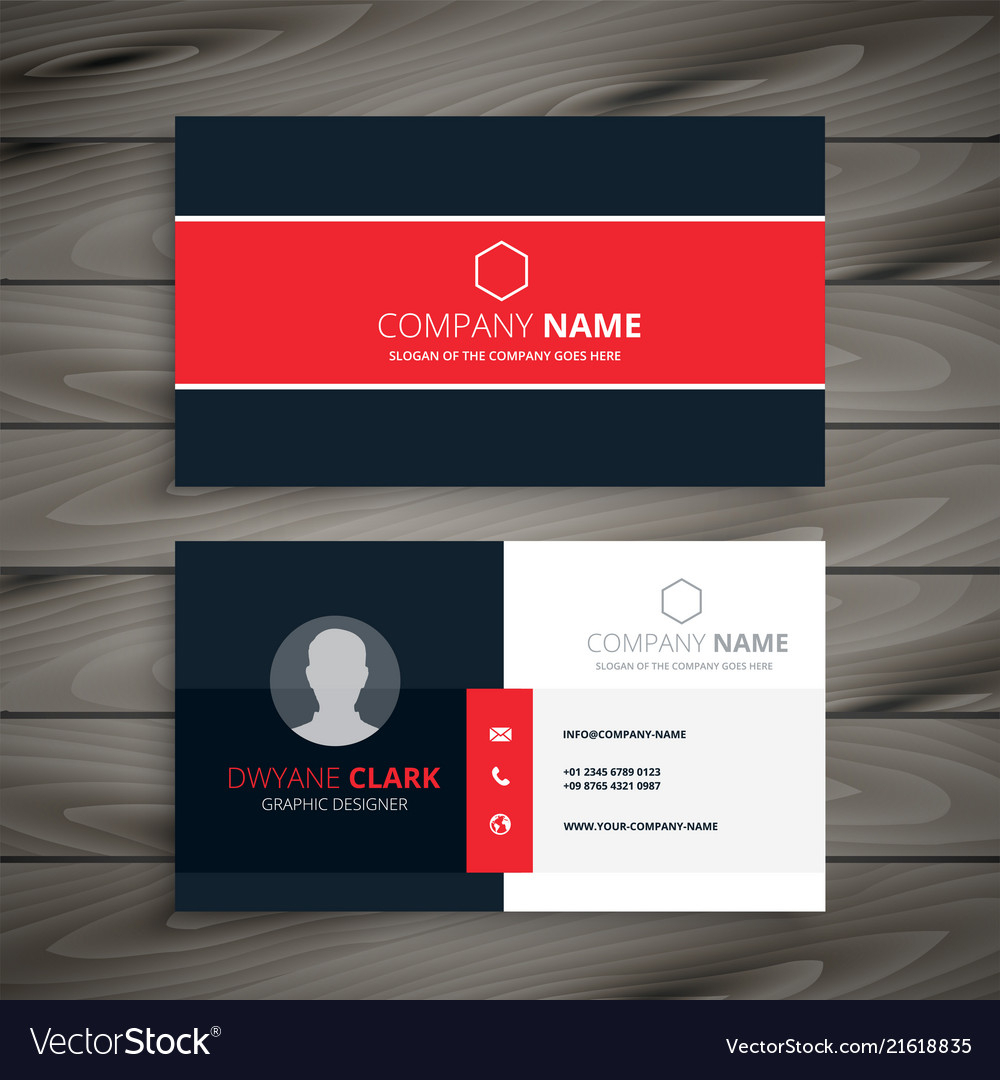 professional name card template  cumed