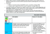 Project Management Office Report Sample Example Material Doc pertaining to Deviation Report Template