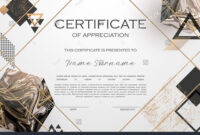 Qualification Certificate Of Appreciation Design. Elegant throughout Qualification Certificate Template