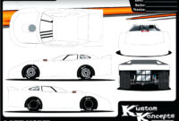 Race Car Template – Wepage.co With Regard To Blank Race Car for Blank Race Car Templates