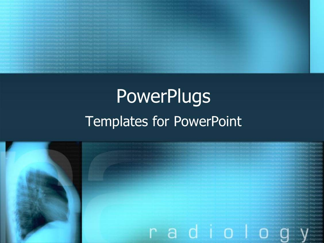 Radiology Powerpoint Templates W/ Radiology Themed Backgrounds Intended For Radiology Powerpoint Template