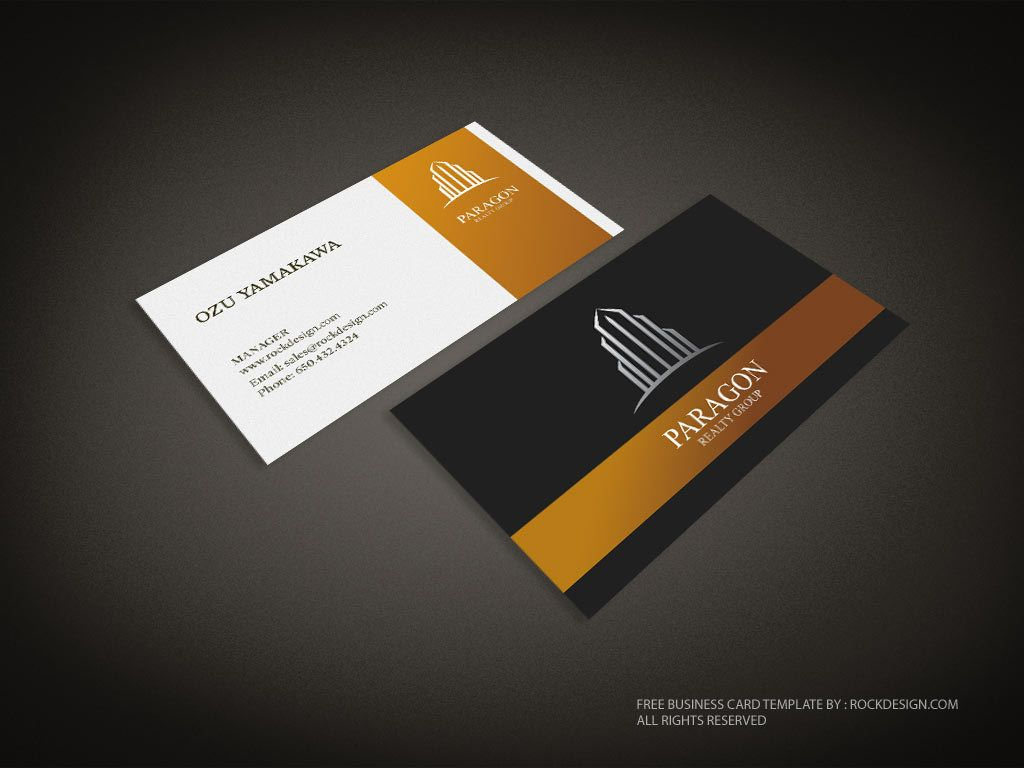 Real Estate Business Card Template | Download Free Design Regarding Real Estate Business Cards Templates Free