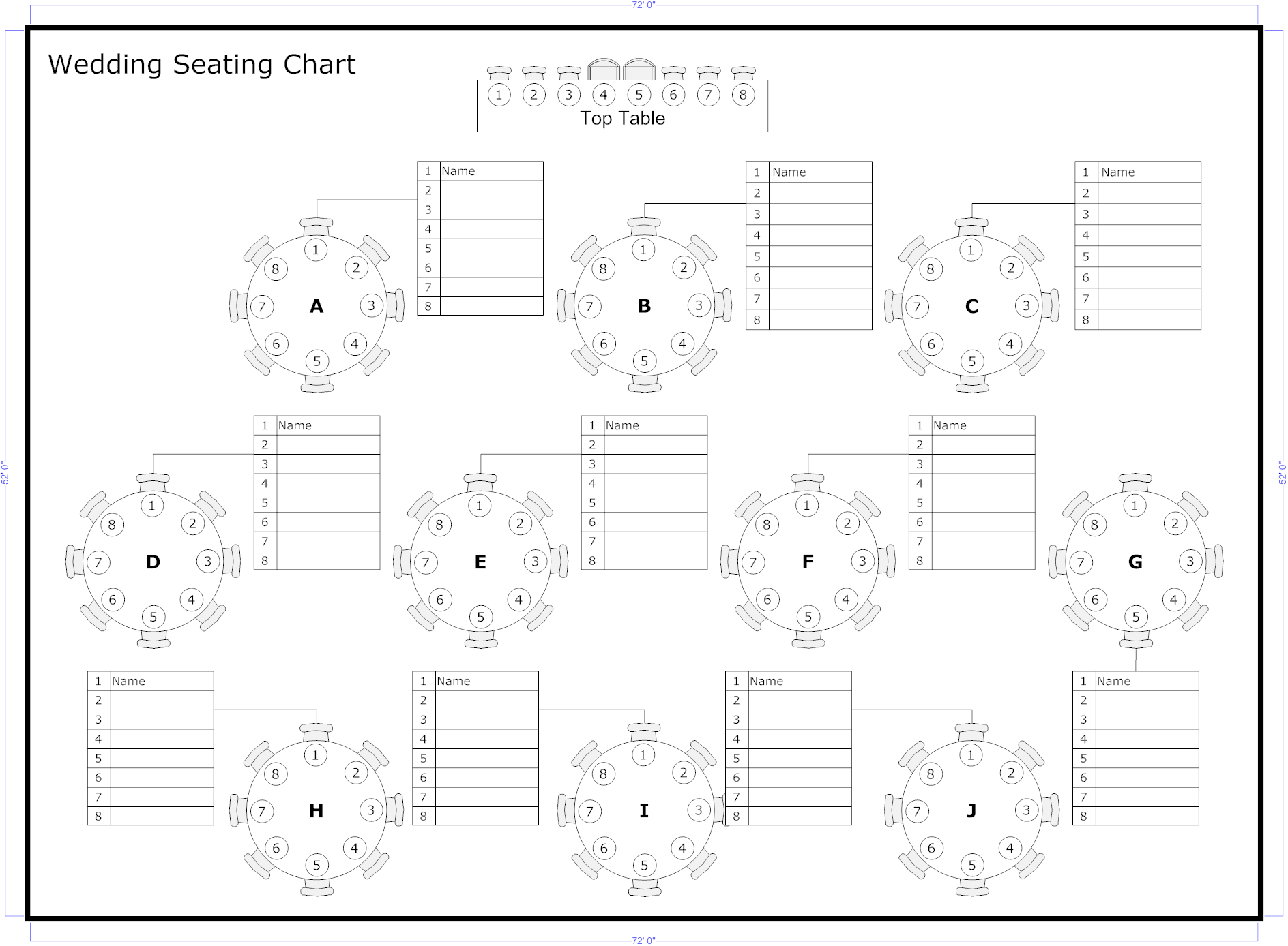 Reception Seating Charts 101 | Wedding Album Photos In 2019 Throughout Wedding Seating Chart Template Word