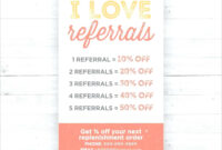 Referral Card Template Photo Marketing Templates – Wovensheet.co throughout Referral Card Template