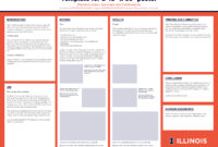 Research Poster | Campus Templates | Public Affairs | Illinois in Powerpoint Presentation Template Size