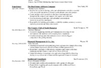 Resume Format Skills | Microsoft Word Resume Template In Microsoft Word Resumes Templates
