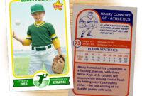 Retro 75 Series Is The Primary Custom Baseball Card Design in Baseball Card Template Word