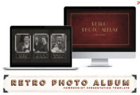 Retro Photo Album Ppt Template with Powerpoint Photo Album Template