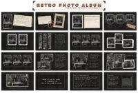 Retro Photo Album Ppt Templateblixa 6 Studios On throughout Powerpoint Photo Album Template
