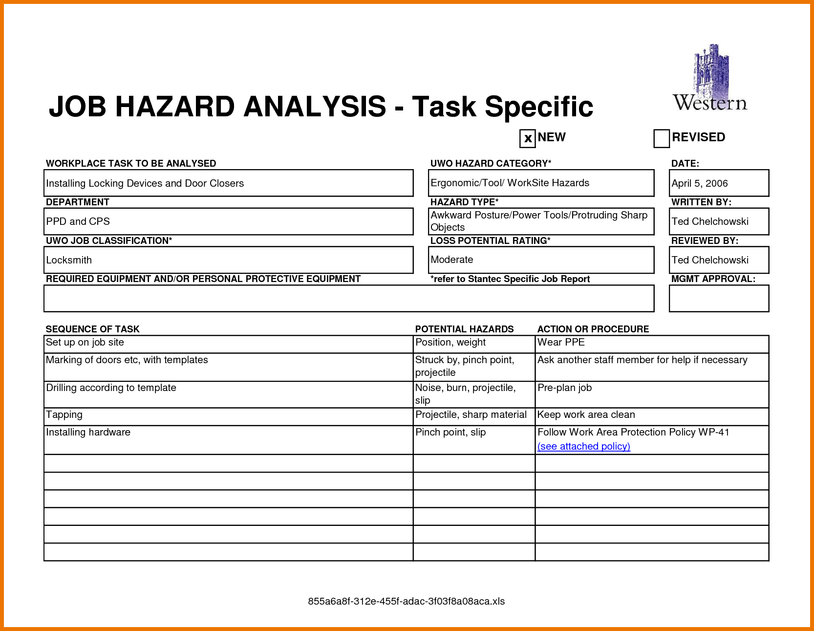 Safety Analysis Report Template - Atlantaauctionco For Safety Analysis Report Template