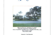 Sample Inspection Reports For Residential And Commercial intended for Commercial Property Inspection Report Template