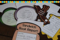 Sandwich Book Report Printable | Writing | Improve Reading intended for Sandwich Book Report Printable Template