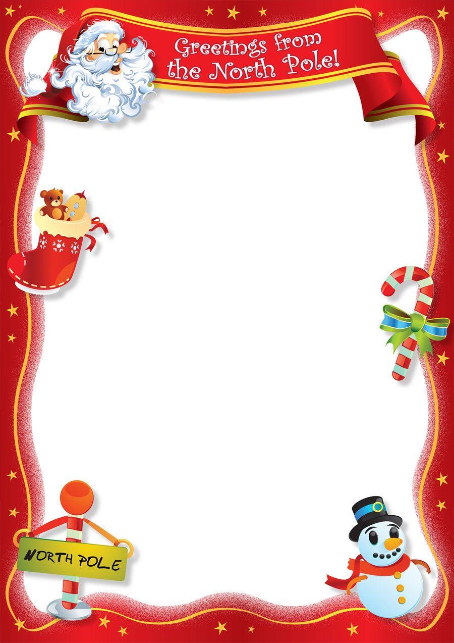 Santa Blank Lettersangrafix | Christmas | Santa Template Intended For Blank Letter From Santa Template