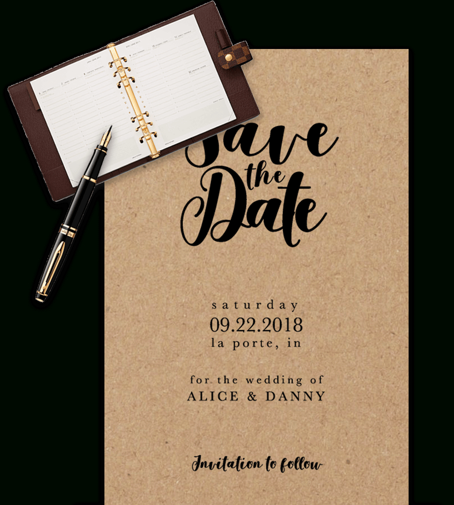 Save The Date Templates For Word [100% Free Download] Inside Save The Date Template Word