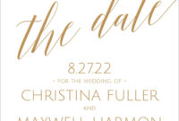 Save The Date Wording | Invitationsdawn with Save The Date Templates Word