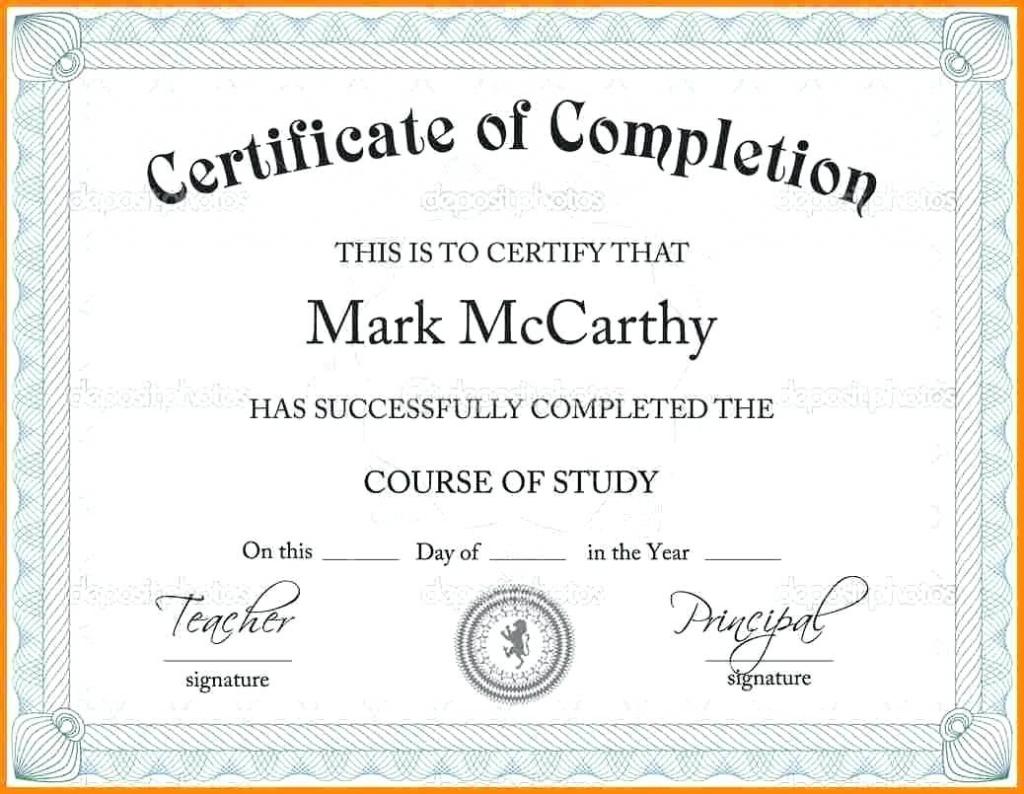 Scholarship Certificate Template | Template Business Format In Scholarship Certificate Template