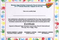 School Certificate Samples Sign In Sheets For Employees For with regard to Free Vbs Certificate Templates