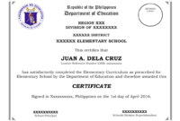 School Certificates Sample Templates | Certificate Templates for Certificate Templates For School
