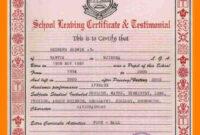 School Leaving Certificate Format.school-Leaving-Certificate inside Leaving Certificate Template