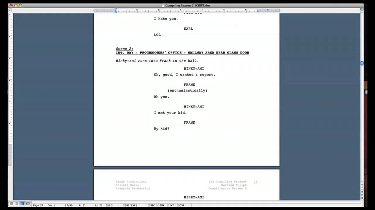 Script Formatting Tips (How To Format A Screenplay In Microsoft Word) Inside Microsoft Word Screenplay Template