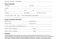 Sensational Registration Form Template Word Ideas Contest pertaining to School Registration Form Template Word