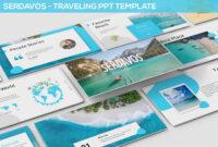 Serdavos – Traveling Powerpoint Template #travel, #vacation inside Tourism Powerpoint Template